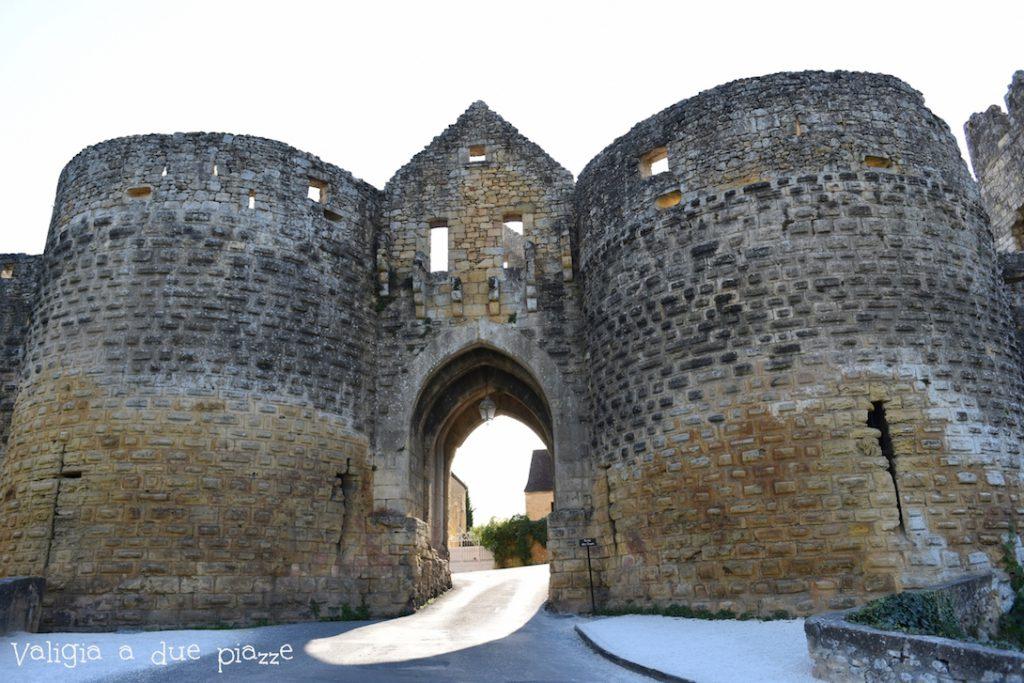 La cinta muraria di Domme