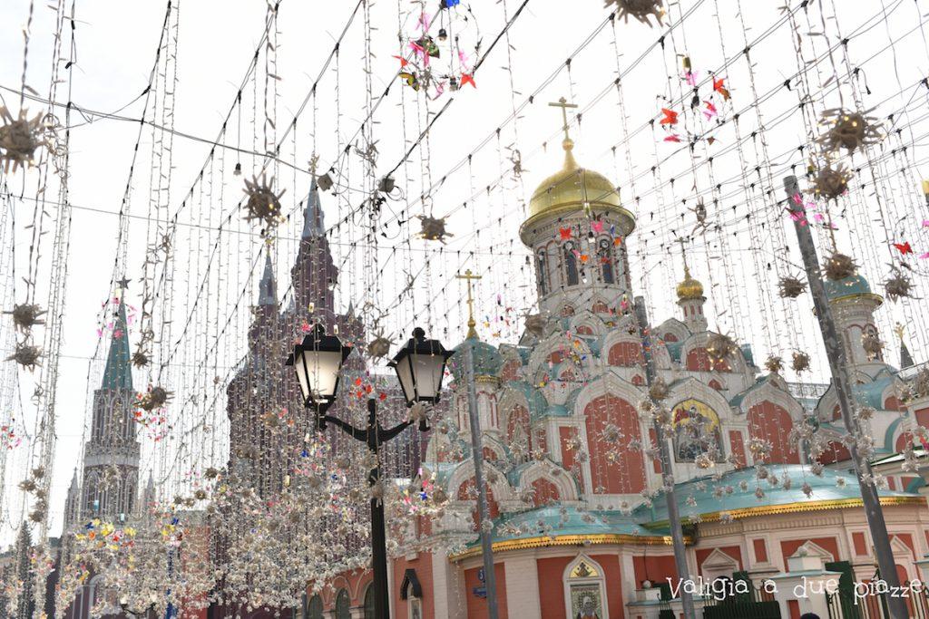 Nikolskaya Street Mosca Russia piazza rossa