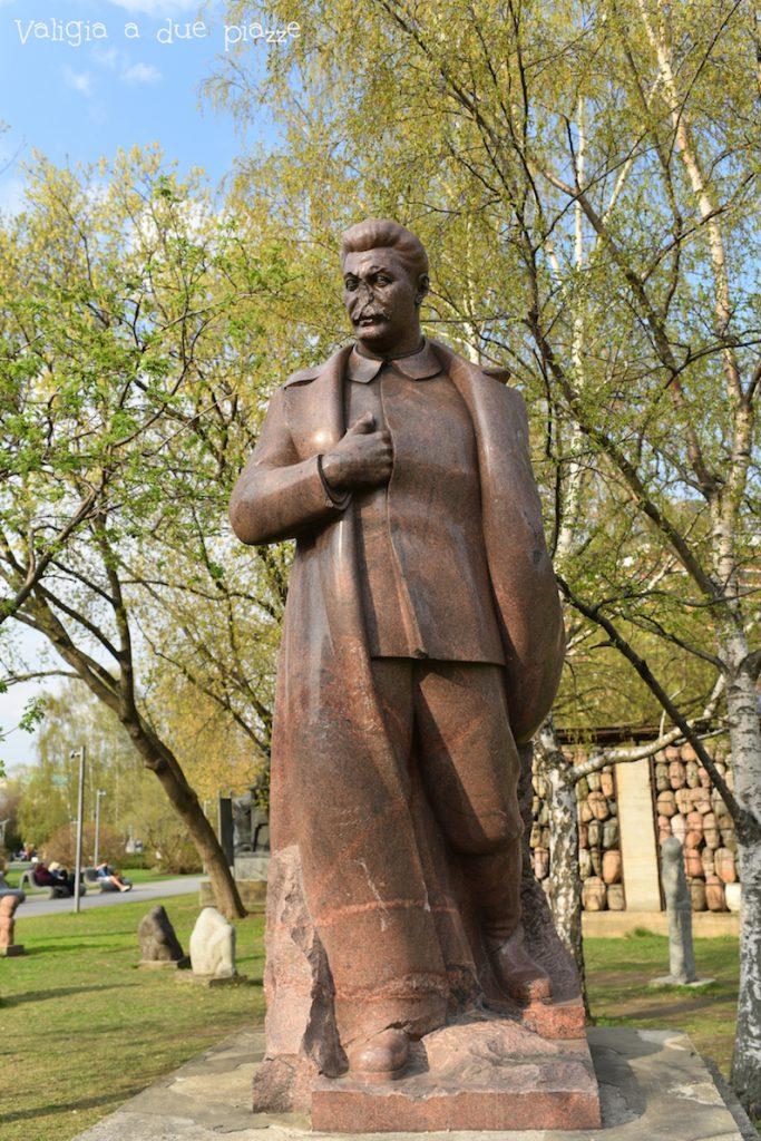 cimitero delle sculture sovietiche mosca stalin