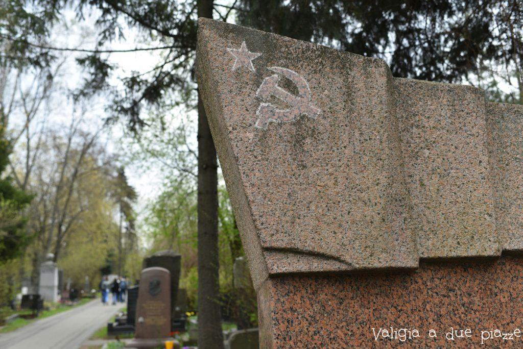 cimitero di novodevichy mosca