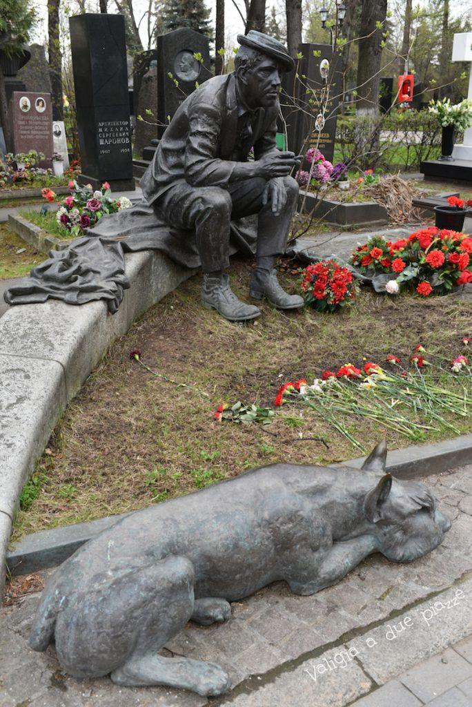 cimitero di novodevichy mosca russia