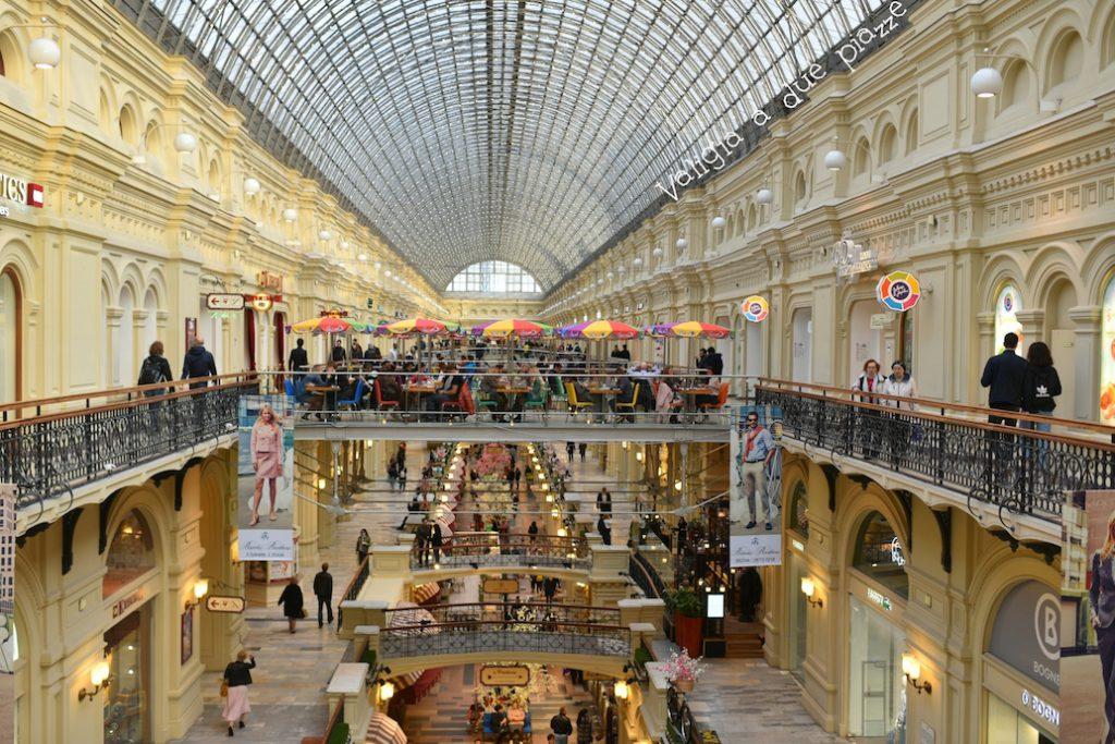 centro commerciale GUM interni russia mosca