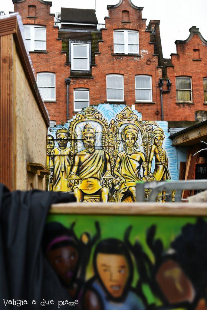 Brick Lane murales