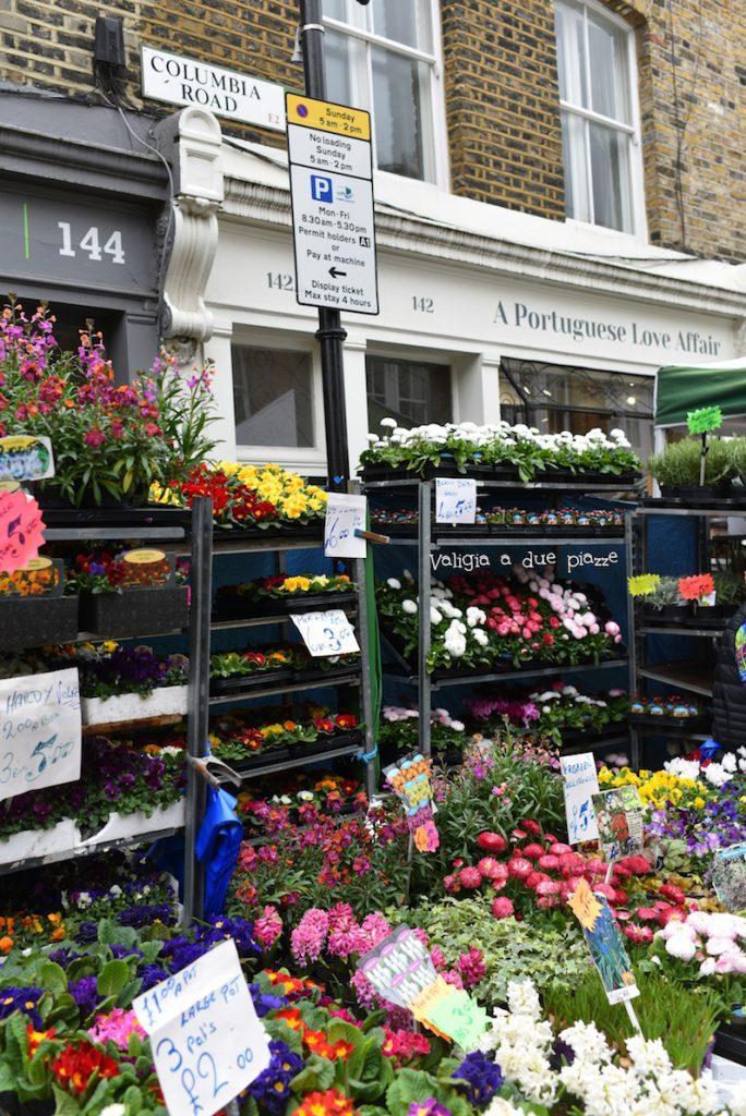 Columbia Road Flower Market Londra