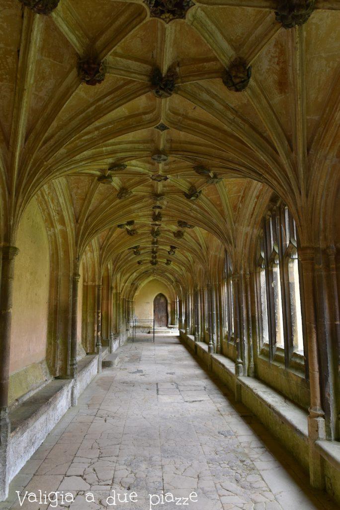Nell'Abbazia di Lacock sono state girate alcune scene dei film di Harry Potter