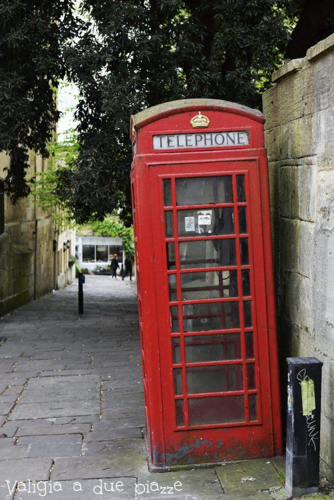 cabina telefonica inglese Bath
