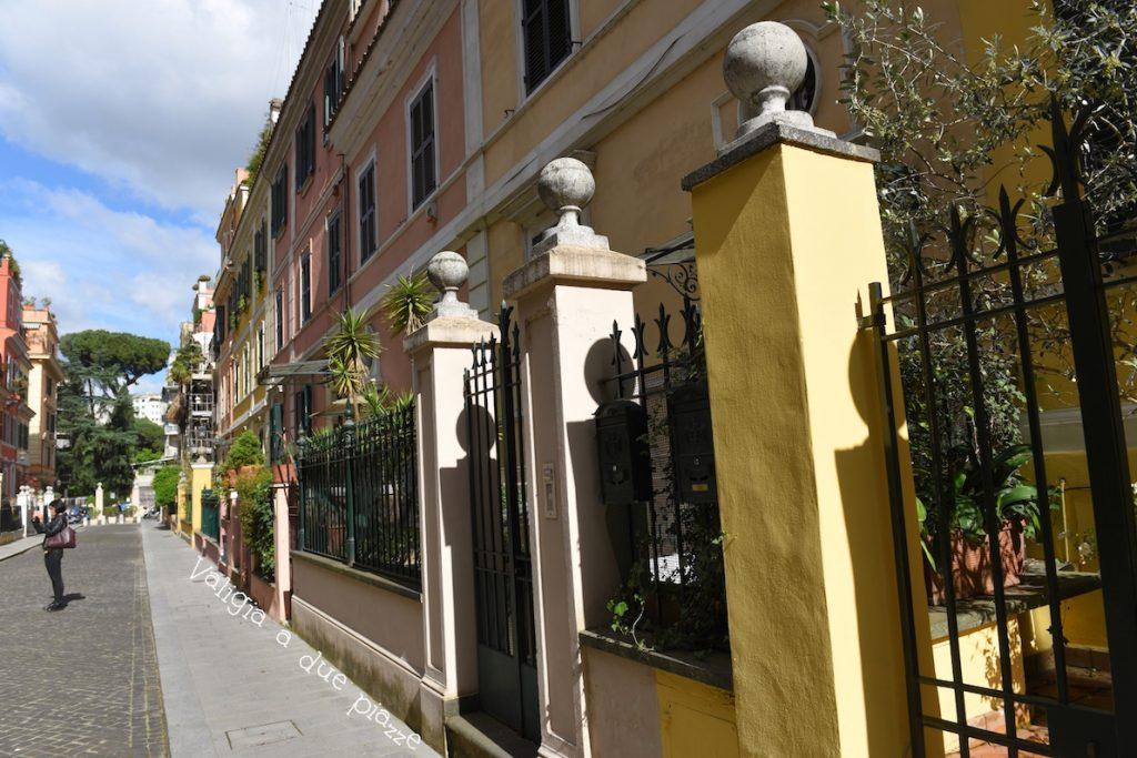 Piccola Londra Roma via Bernardo Celentano