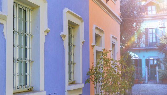 Le case colorate di Milano e Roma: il Quartiere Arcobaleno e la Piccola Londra