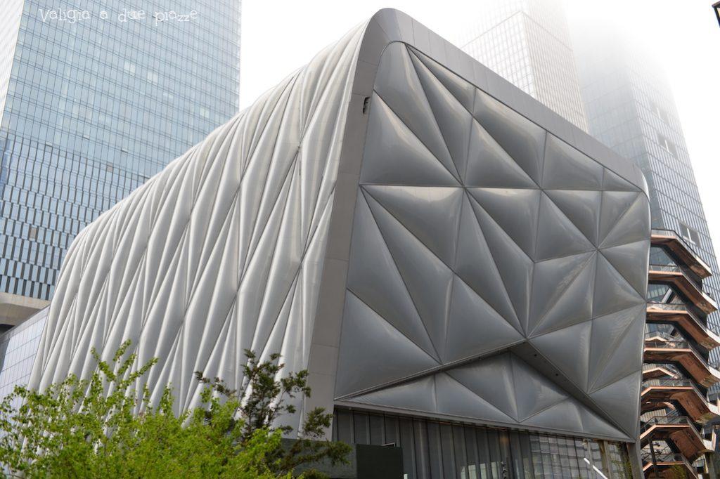 Il centro culturale The Shed, inaugurato il 5 aprile 2019