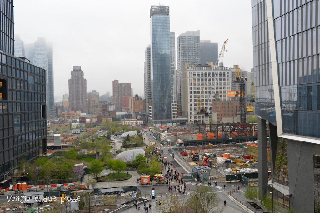 La zona del nuovo quartiere Hudson Yards