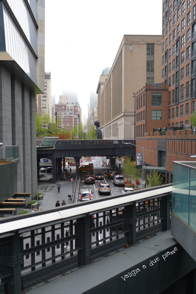 Il tratto di High Line verso Hudson Yards