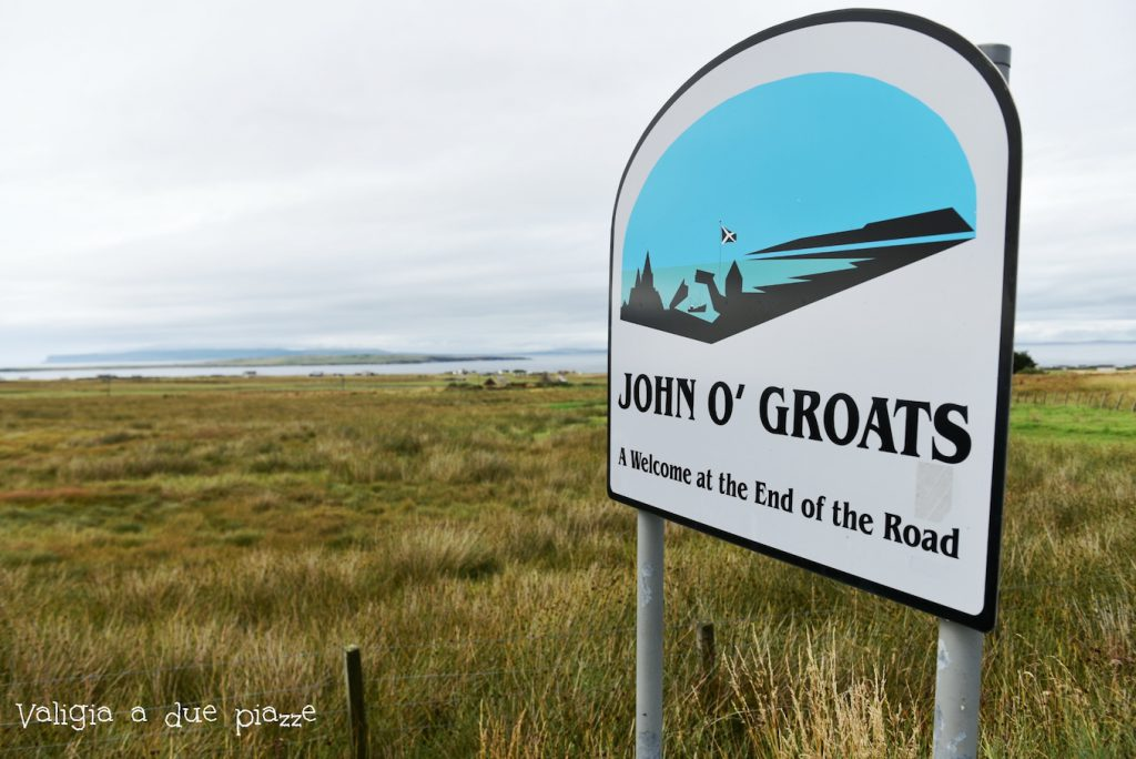 John o' groats highlands scozia