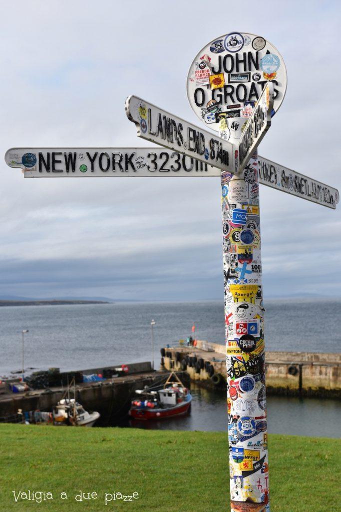 john o' groats punto più a nord Gran Bretagna Scozia