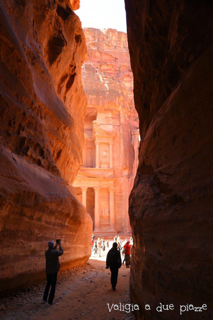 Siq Petra e il Tesoro