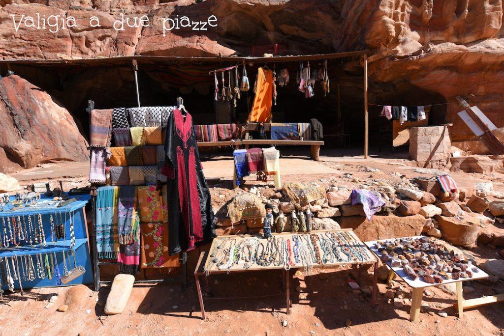 bancarella beduini Petra
