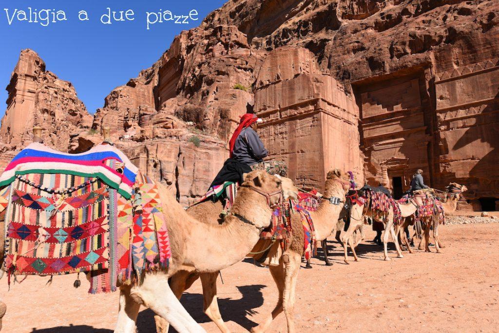 cammelli tombe reali Petra