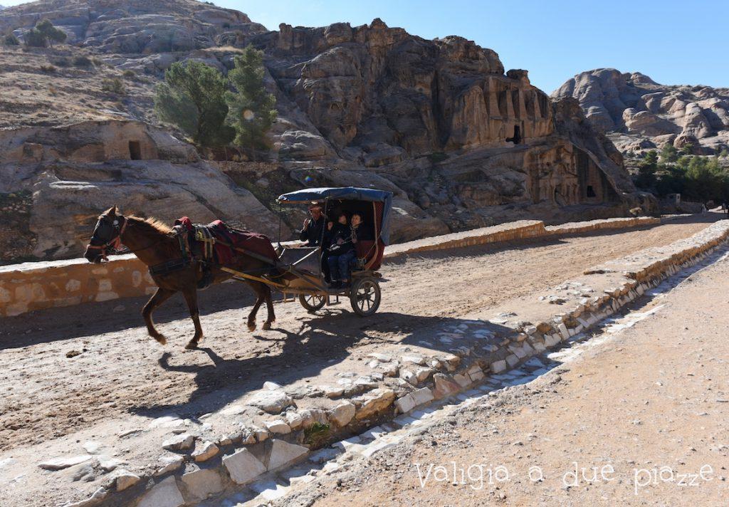 carrozza a cavallo Petra