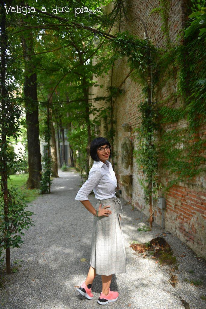 Giardino vigna Leonardo Casa Atellani
