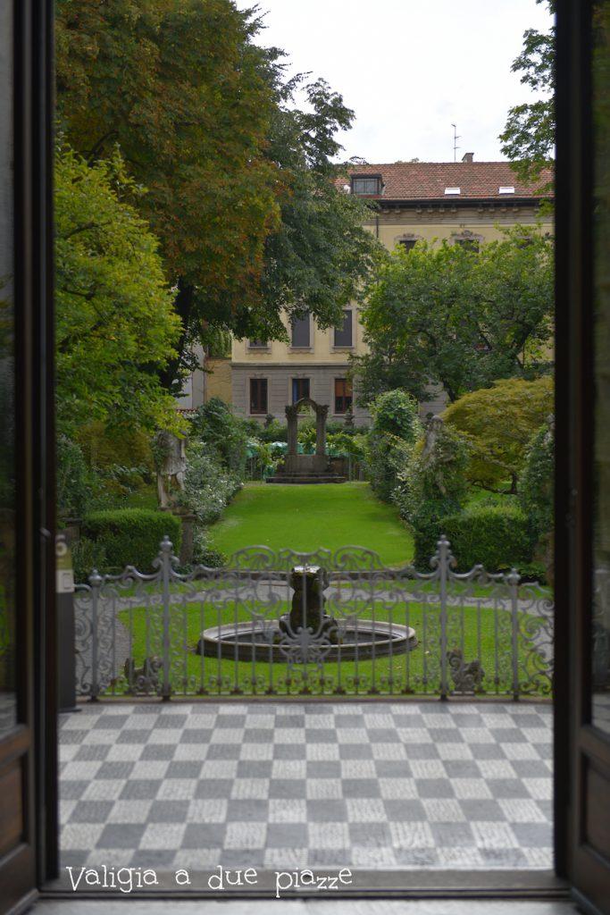 Giardino delizie Casa Atellani Milano