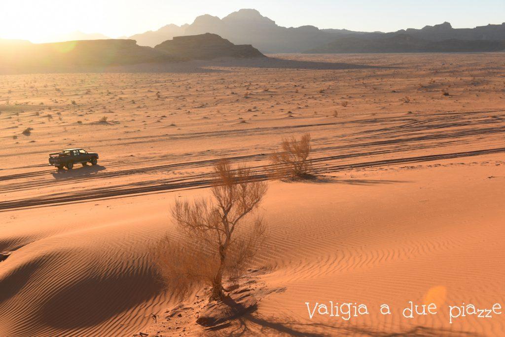 Il deserto del Wadi Rum