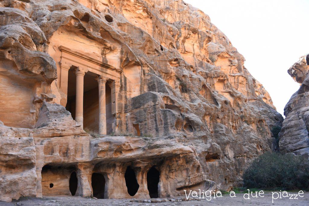 Il sito patrimonio dell'umanità Unesco Piccola Petra