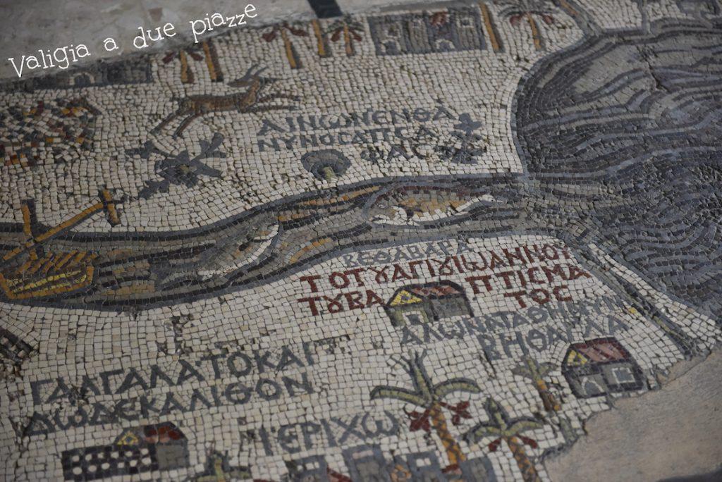 Mappa di Madaba mosaico