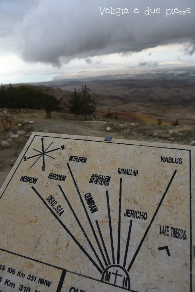 Il panorama dal Monte Nebo verso Israele
