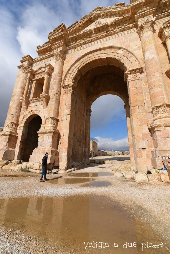 Arco di Adriano, Jerash