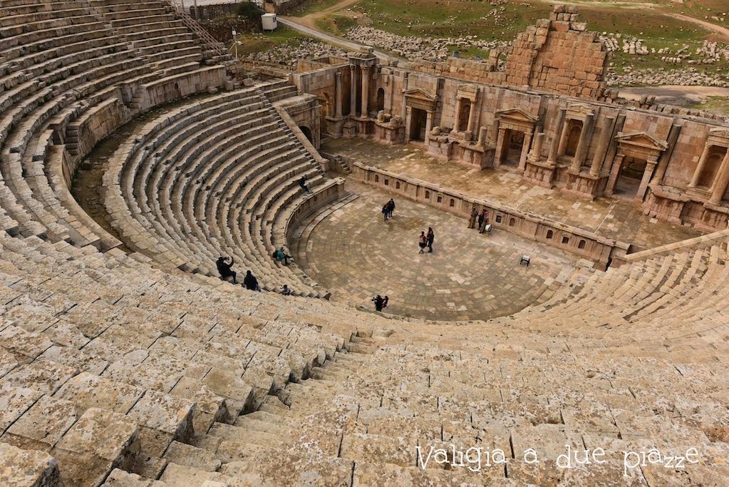 anfiteatro greco Gerasa Giordania