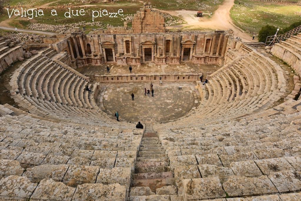 L'anfiteatro di Jerash
