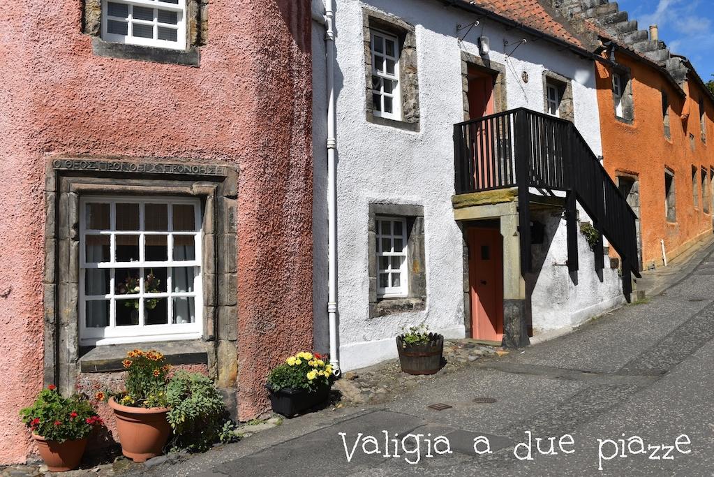 Il cuore del villaggio di Culross, nel Fife
