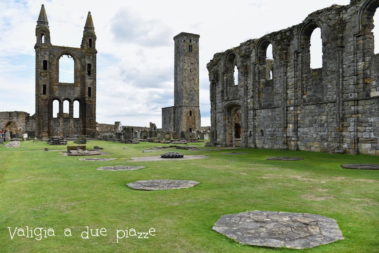 Il borgo medievale che si affaccia sul Mare del Nord, Saint Andrews