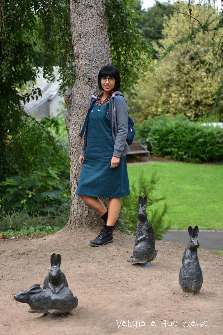 Potete visitare Beatrix Potter Exhibition & Garden a Dunkeld