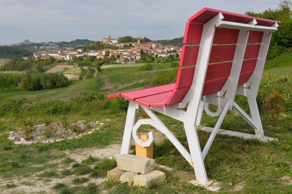 Big Bench Rosso Barbera, Sala Monferrato.