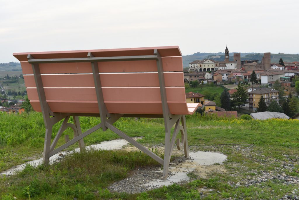 Big Bench a Moasca.