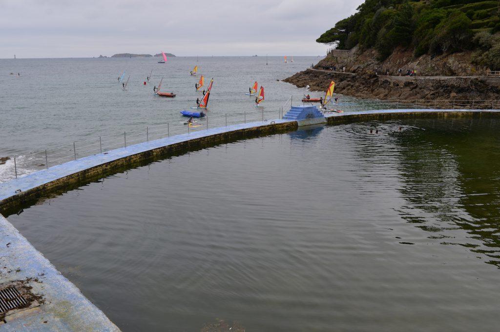 Piscine d'eau de mer Dinard