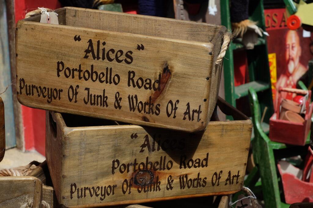 ceramiche vintage Alice's Portobello