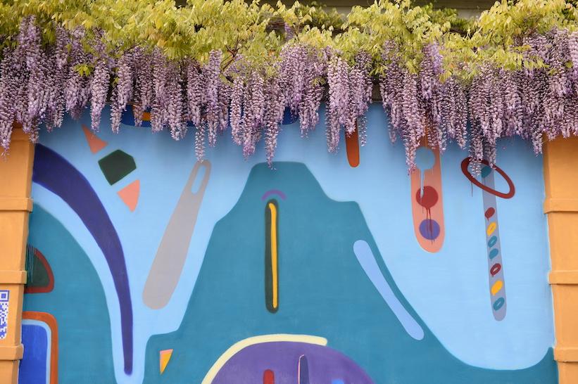 murales via Orcagna