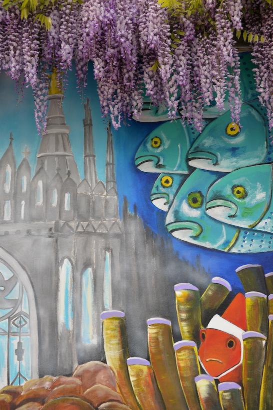 Via Orcagna murales