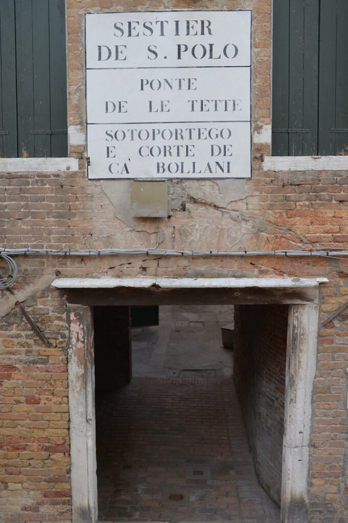 Ponte delle Tette Venezia